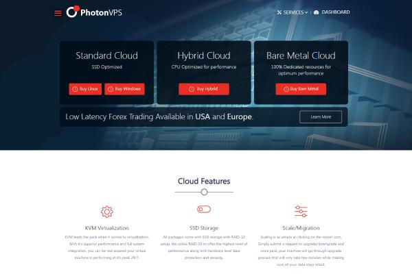 Top Free VPS Trial No Credit Card Required 2019: Photon