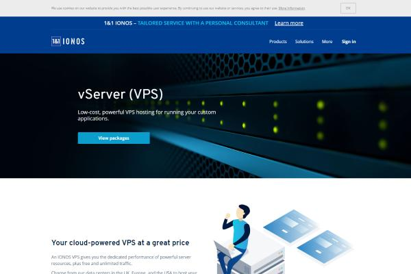 Top Free VPS Trial No Credit Card Required 2019: 1&1 Hosting