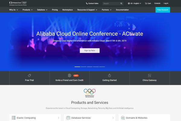 Top Free VPS Trial No Credit Card Required 2019: Alibaba Cloud