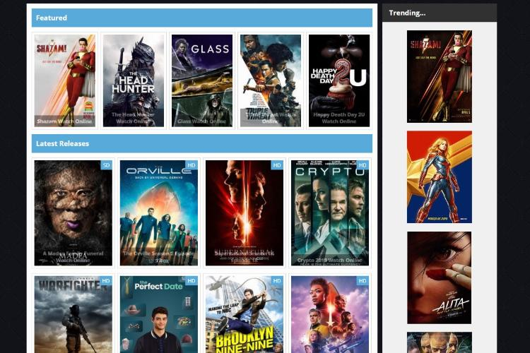 Free Movie Streaming Sites No Sign Up 2019: Url